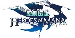 Logo for Heroes of Mana