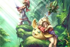 Legend of Mana Remastered Art Gallery