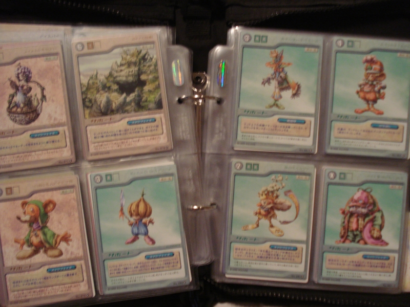 Legend of Mana Card Duel Support cards.